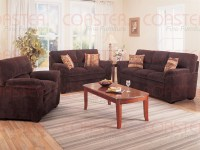 Molly Chocolate Corduroy Fabric 2 Piece Living Room Set by ...
