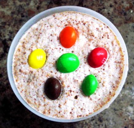 Peanut Butter M&M Frappuccino