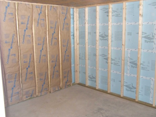 Best Methods For Insulating Basement Walls - Concrete Wall Insulation
