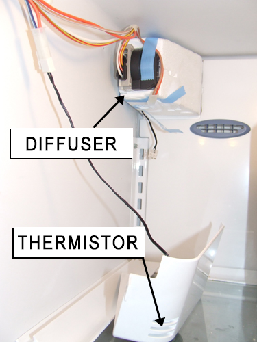 How To Fix Warm Side-By-Side Kenmore Elite Refrigerator
