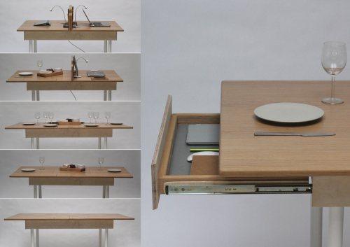 Medium Of Kitchen Workstation Table