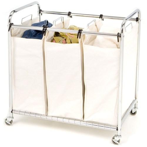 Medium Of Rolling Laundry Basket