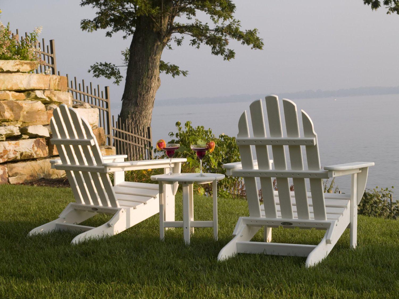 Classic Style Plastic Adirondack Chairs Home Decorator Shop