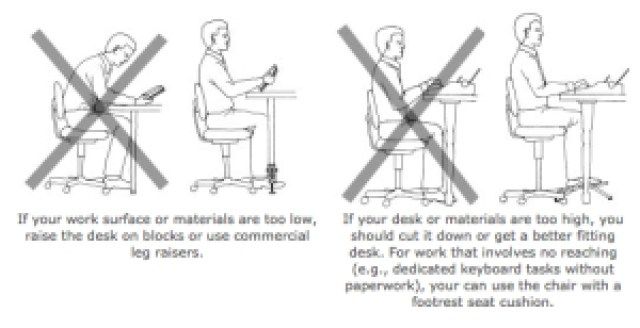 Office Desk Chair Height