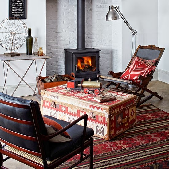 Eclectic room Recliners