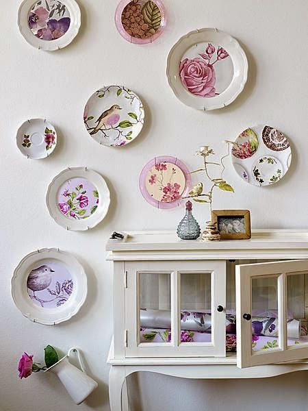 Pretty Plates On The Walls