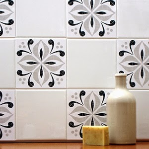 Decal on Tiles