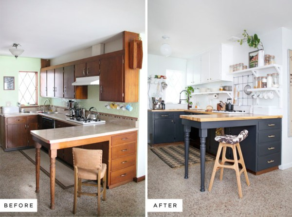 Kitchen Remodels - Before And After