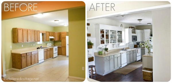 kitchen remodels before and after - Before And After Kitchen Renovations