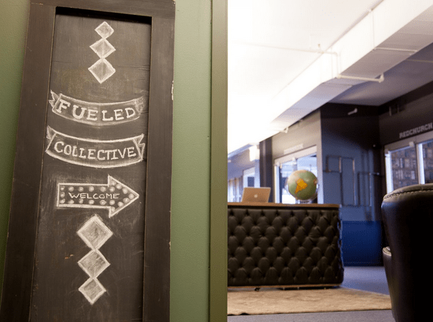 Fueled office is located in the famous Prince Building in > Manhattan's SoHo district
