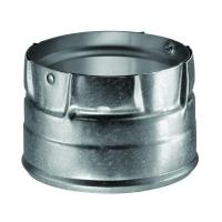 DuraVent 4 in. Pellet Vent Chimney Stove Pipe Tee with