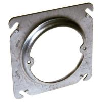 4 in. Square Fixture Raised 5/8 in. Mud Ring-8756 - The ...