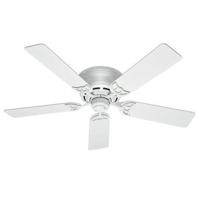 Hunter Low Profile III 52 in. White Indoor Ceiling Fan