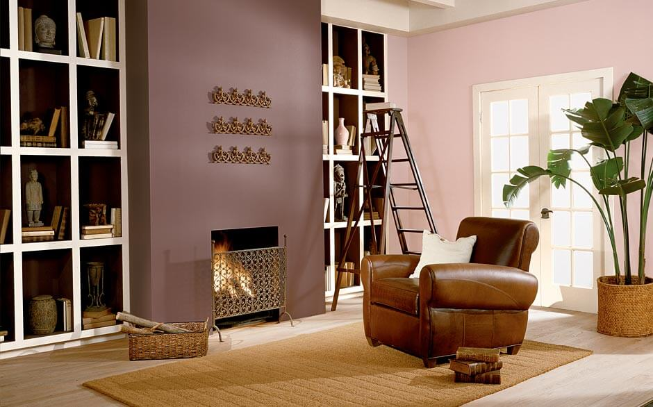 Living Room - Paint Color Selector - The Home Depot - color for living room