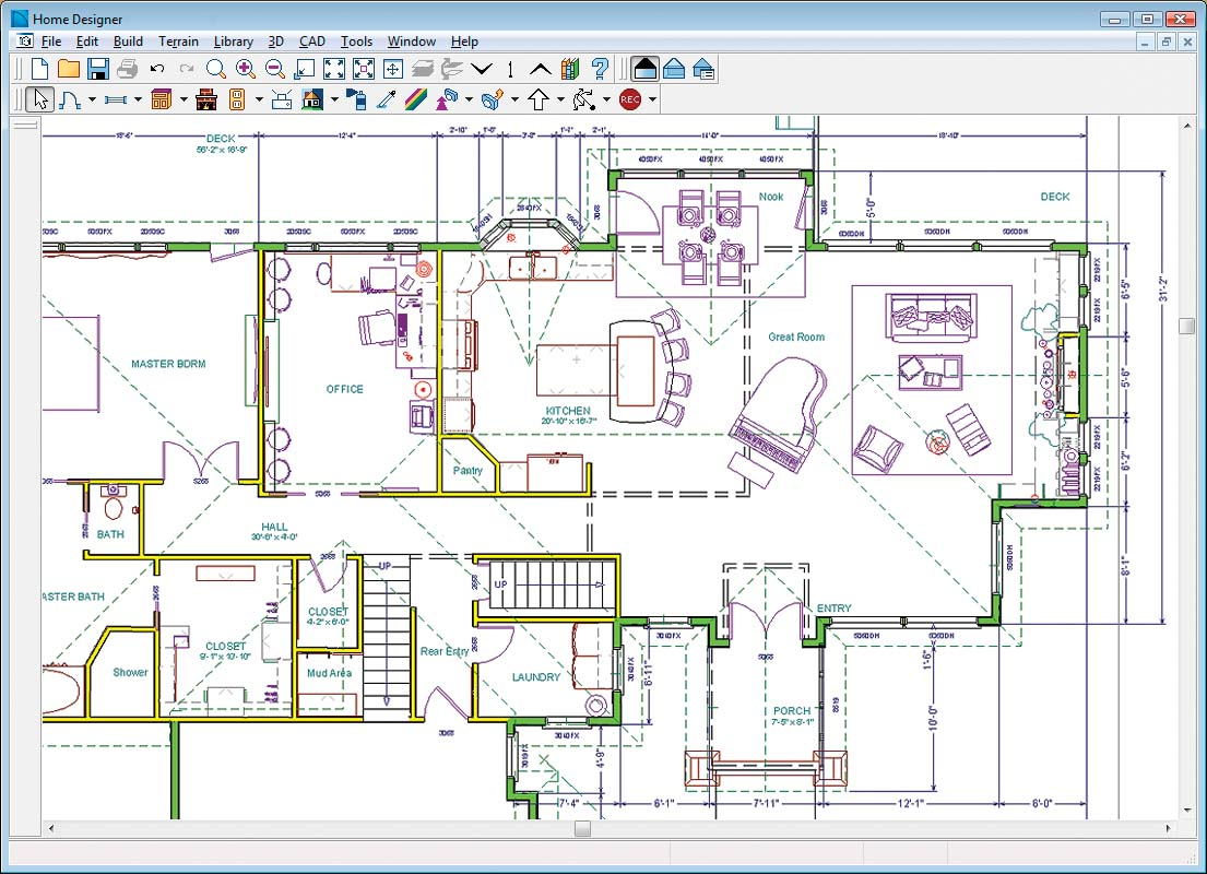 Sample room cad drawing apps directories