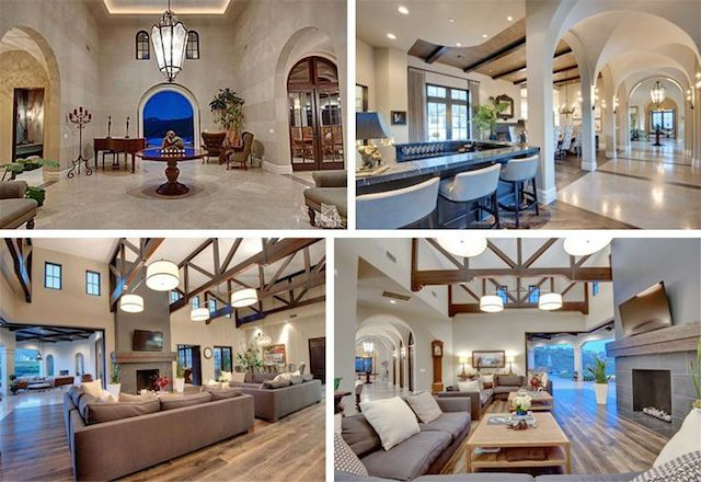 Luxury home design inside the house of Britney Spears - luxury home design