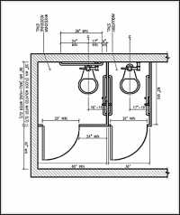 ADA Bathroom Dimensions and Guidelines for Accessible and