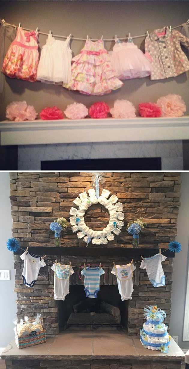 baby shower guest sign in