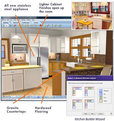 Kitchen Design Software Virtual Architect - kitchen design programs