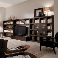 Creating a Home Library in the Living Room | Interior ...