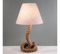 Modern Home Nautical Pier Rope Table Lamp Is For Lovers Of ...