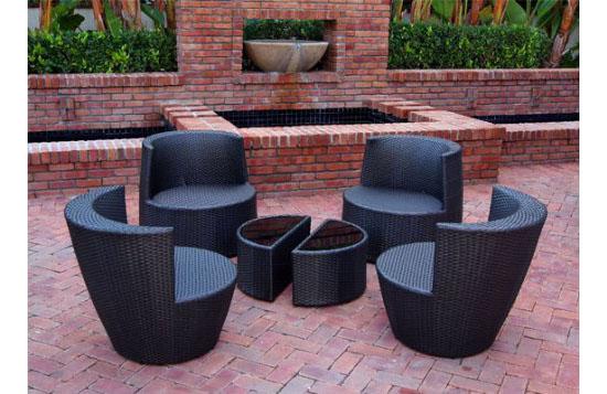 Stackable Patio Furniture Set Home Decor