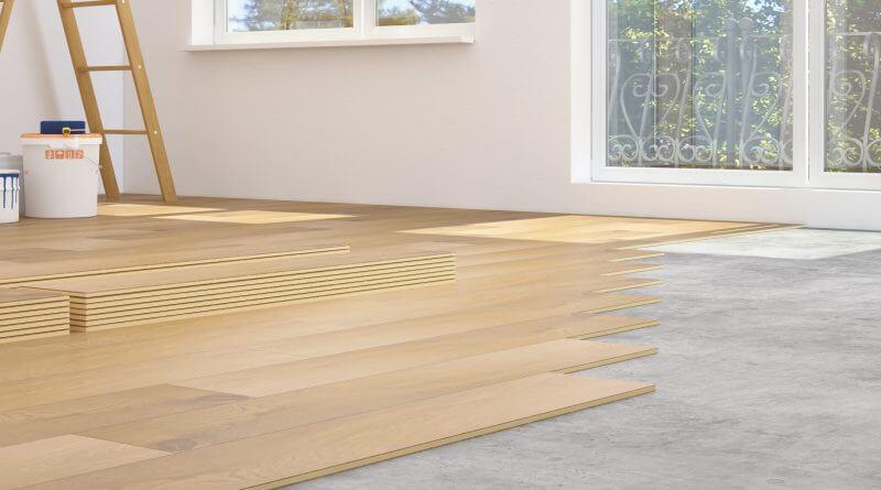 How To Install Laminate Flooring Over Concrete | Homeflooringpros.Com