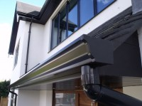 Installation of Black Fascias, Soffits and Seamless ...