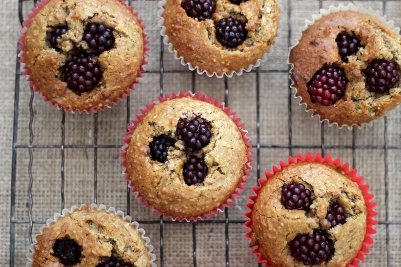 Mini Berry Almond Cakes   Homegrown Kitchen