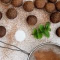 RAW Chocolate Mint Truffles | Homegrown Kitchen