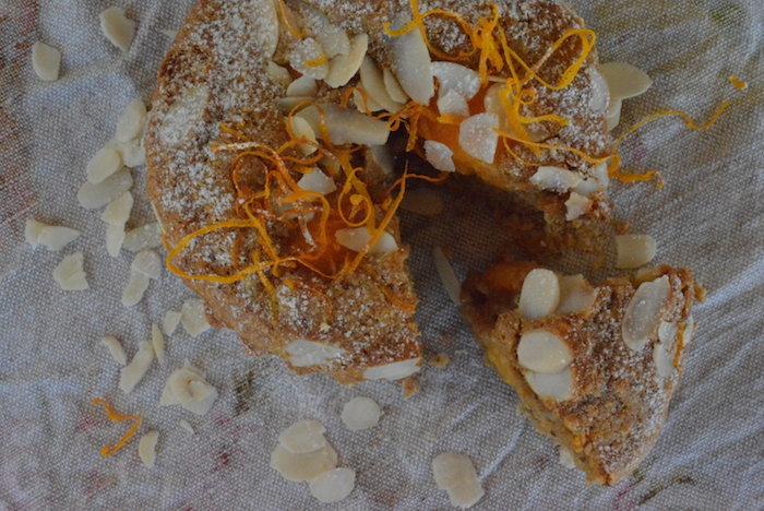 Almond & Peach Tart | HOMEGROWN KITCHEN