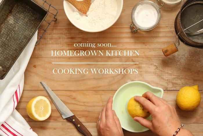 Cooking Workshops | HOMEGROWN KITCHEN