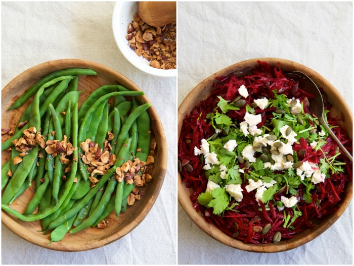 Two Simple Salads | HOMEGROWN KITCHEN