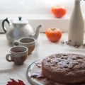 Persimmon & Red Bush Teacake | HOMEGROWN KITCHEN