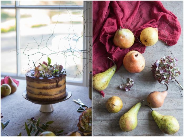 Celebration Layer Cake with Manuka Buttercream + Chocolate Drizzle   HOMEGROWN KITCHEN