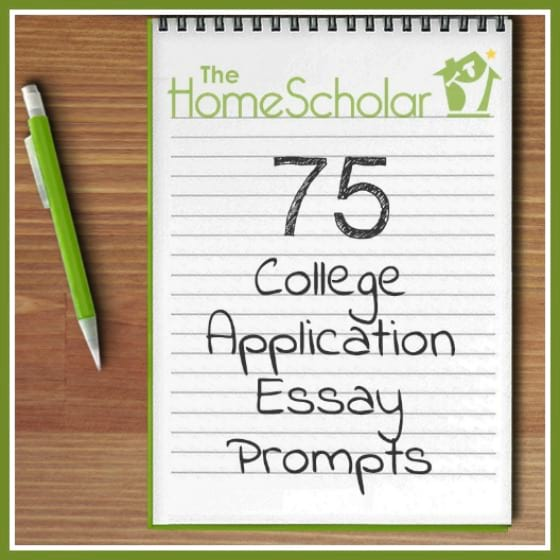 Free Download 75 College Application Essay Prompts - How to