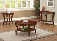 Coaster 704408 Coffee/Cocktail Table Set - Warm Brown ...