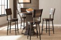Hillsdale Jennings 5-PC Round Counter Height Dining Set ...