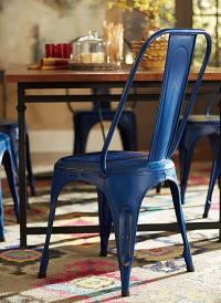 Homelegance Amara Blue Metal Chair - Blue 5034BUES at ...