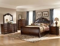 Homelegance Hillcrest Manor Sleigh Bedroom Set - Cherry ...