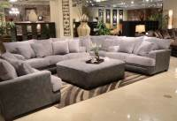 Jackson Barkley Sectional Sofa Set - Grey JF-4442-SECT-SET ...