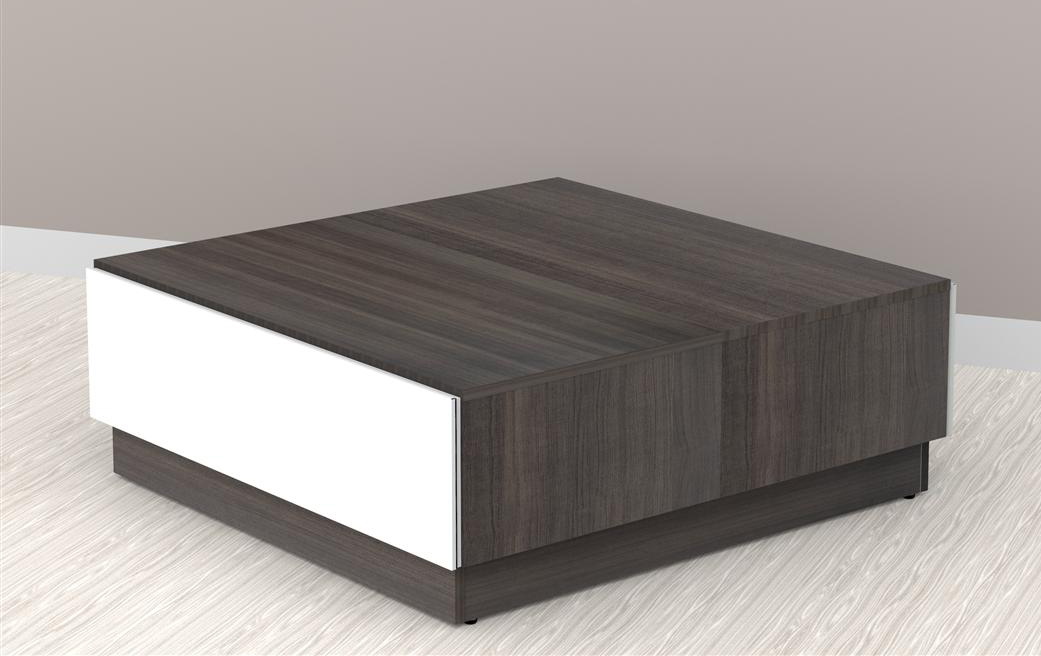 Nexera Allure Coffee Table With Hidden Storage Nx 220733