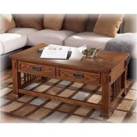 T419-1 Ashley Furniture Cross Island Rectangular Cocktail ...