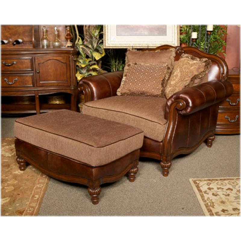 8430323 Ashley Furniture Claremore - Antique Chair And A Half - antique living room sets