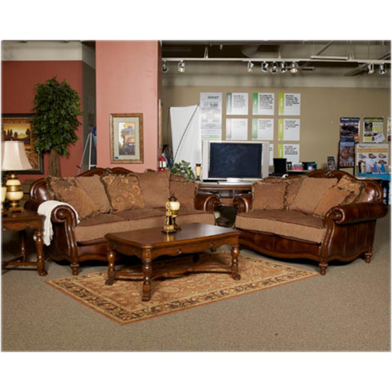Ashley Furniture Claremore - Antique Living Room Sofa - antique living room sets