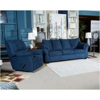 7500738 Ashley Furniture Darcy - Blue Living Room Sofa