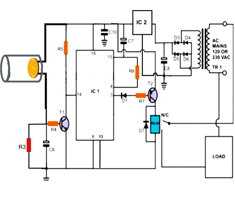 laser circuit diagram