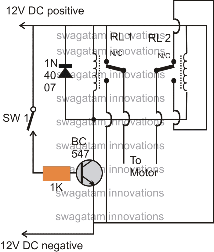 make an electronic toggle switch circuit homemade circuit projects