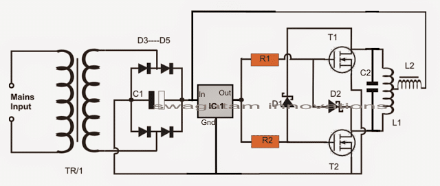 circuit of inverter
