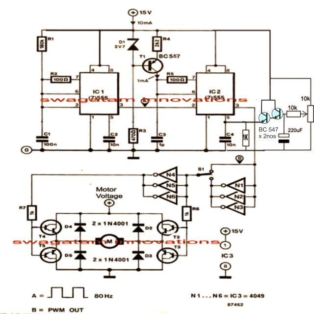 110 Schematic Wiring Instruction Treadmill Motor Speed Controller Circuit Homemade